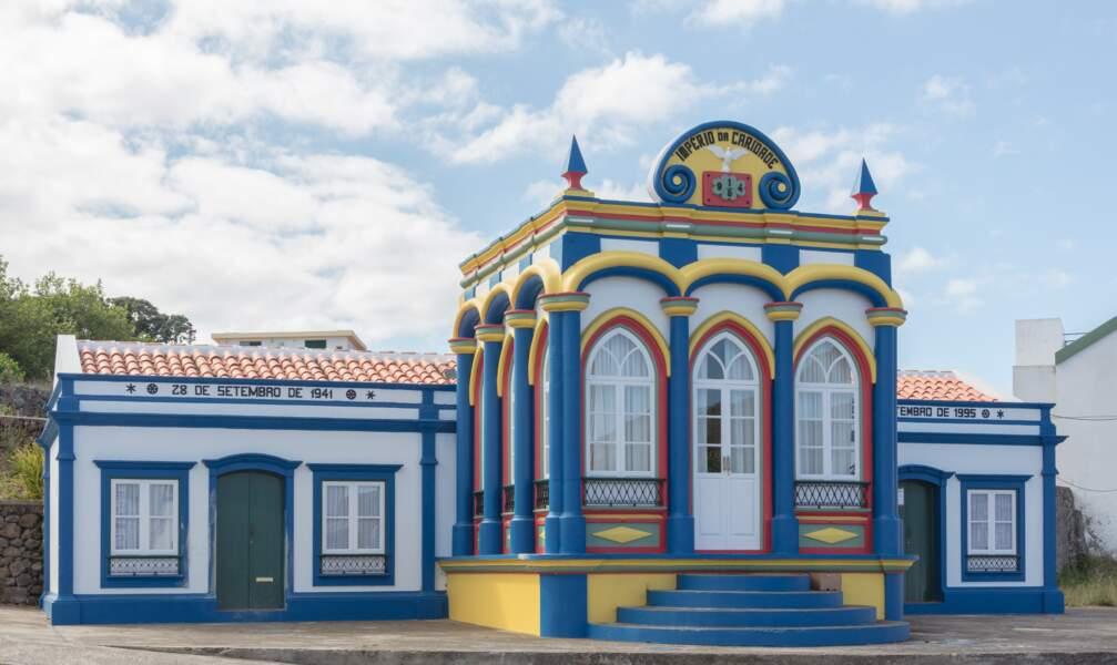 L'Império da Caridade, à Santa Cruz, sur l'île Terceira