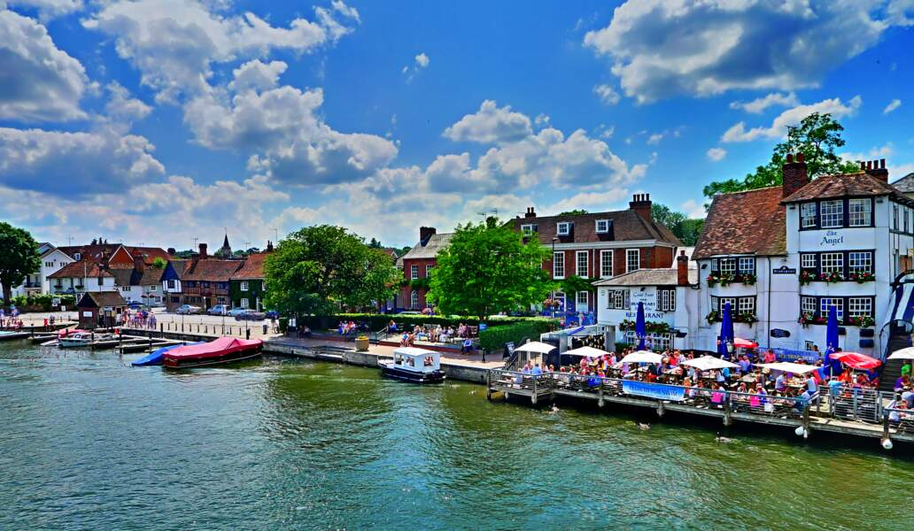 Henley on Thames, dans l'Oxfordshire