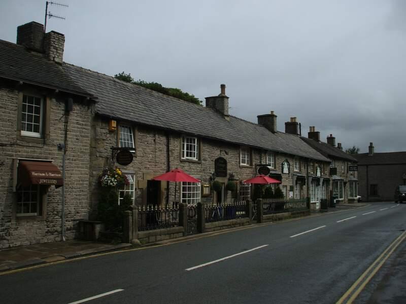 Castleton, dans le comté du Derbyshire