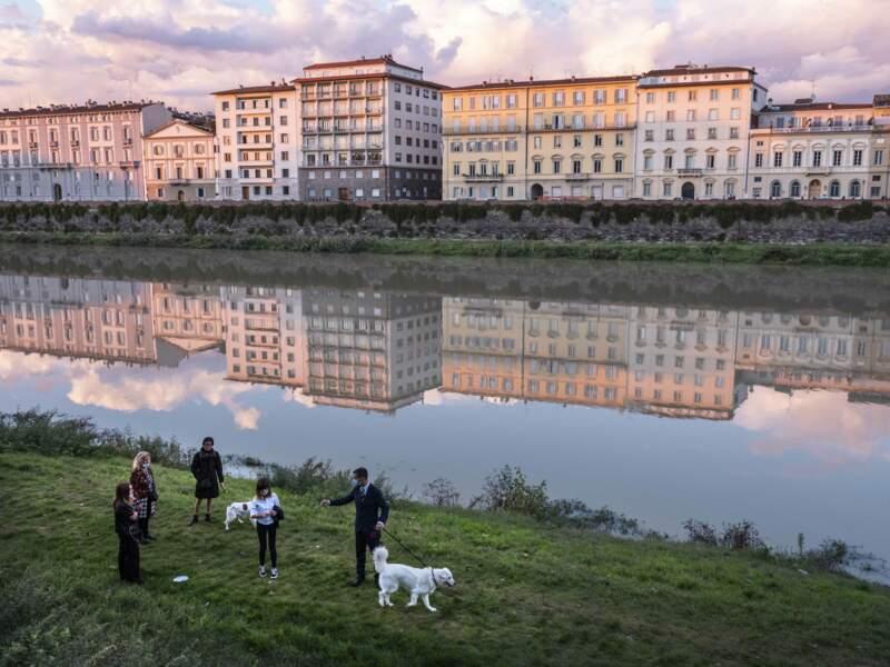 L'Arno en famille