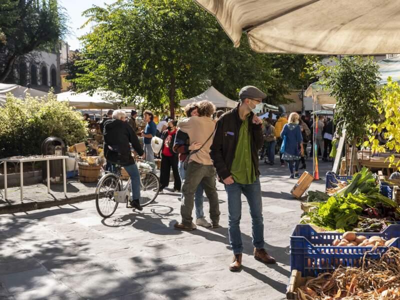 Au marché de Santo Spirito