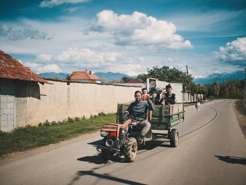 Sur les routes du Kosovo