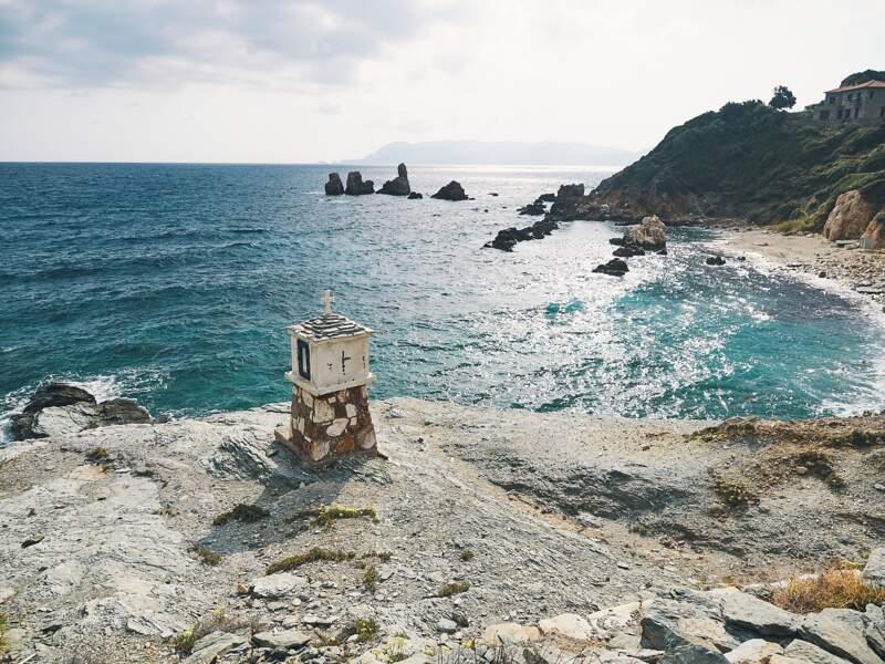 Des criques désertes en Grèce