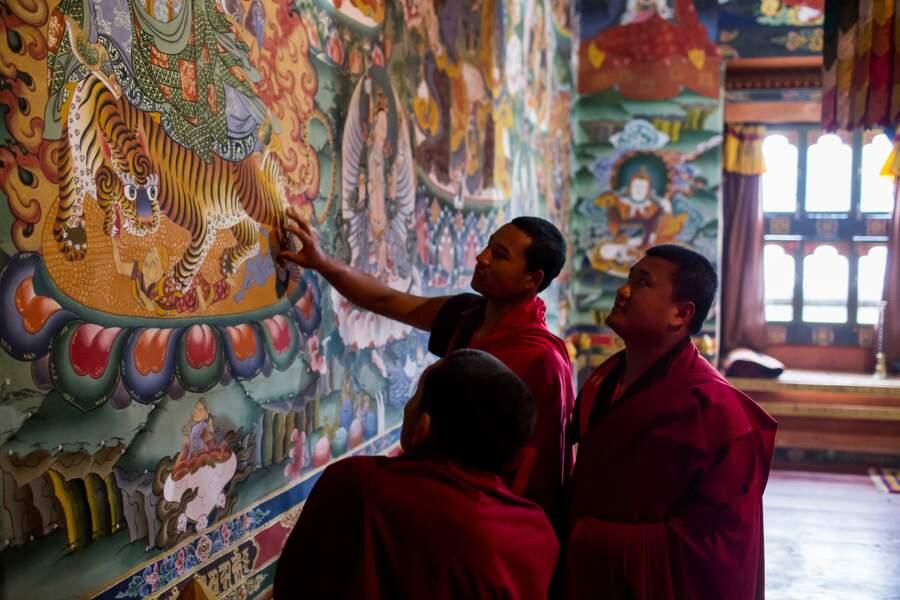 Le tigre, un animal vénéré au Bhoutan