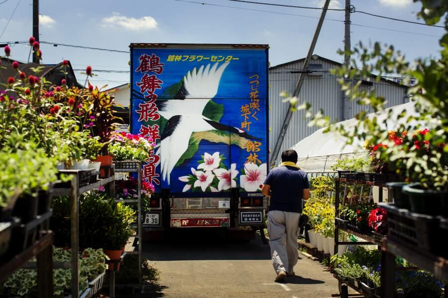Des fleurs pour cargaison