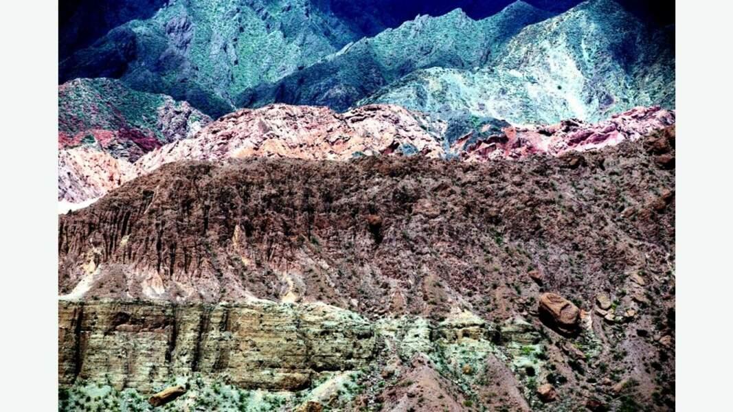 Plans rapprochés de reliefs argentins