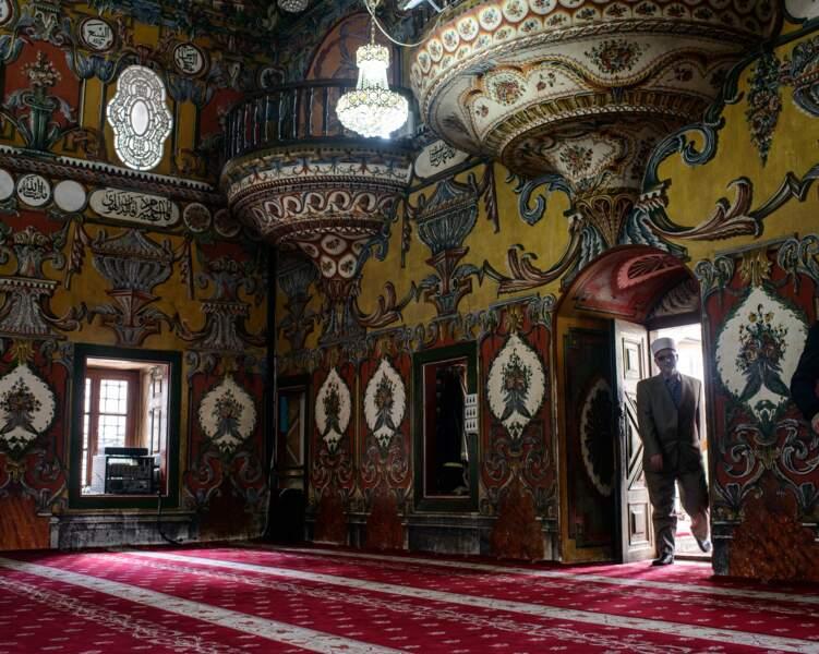 La mosquée peinte de Tetovo