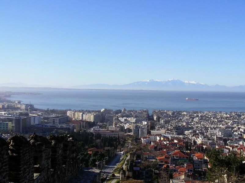 Ano Poli, la vieille ville de Thessalonique