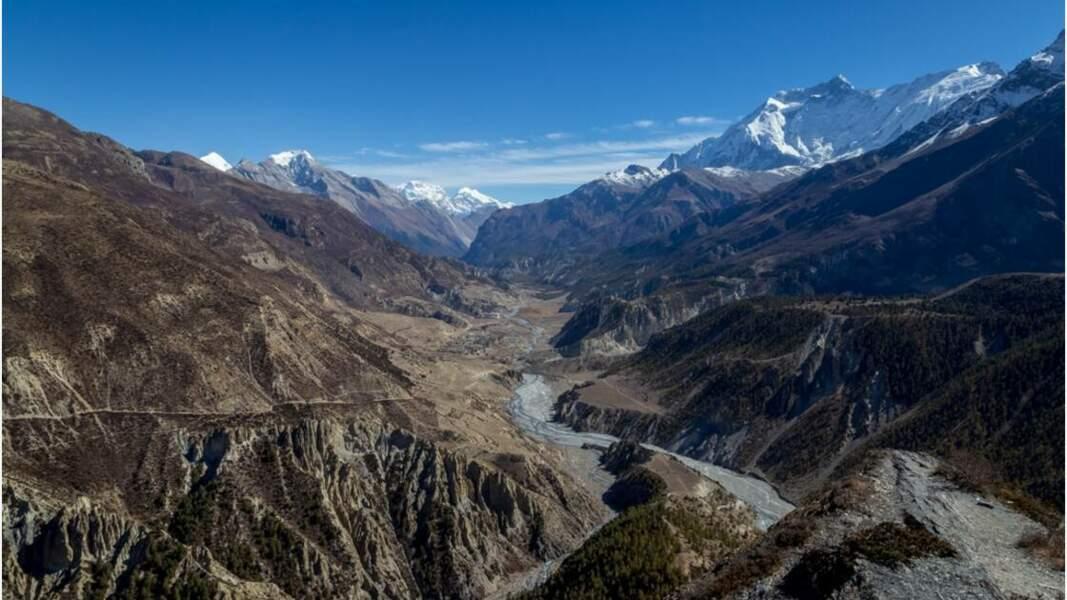 Des rivières venues tout droit de l'Annapurna