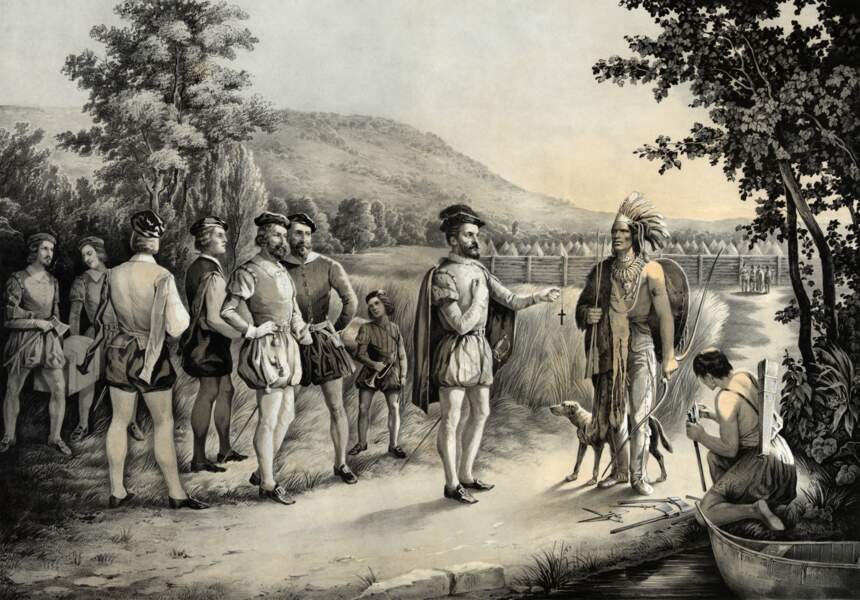 Premiers contacts avec les Iroquois