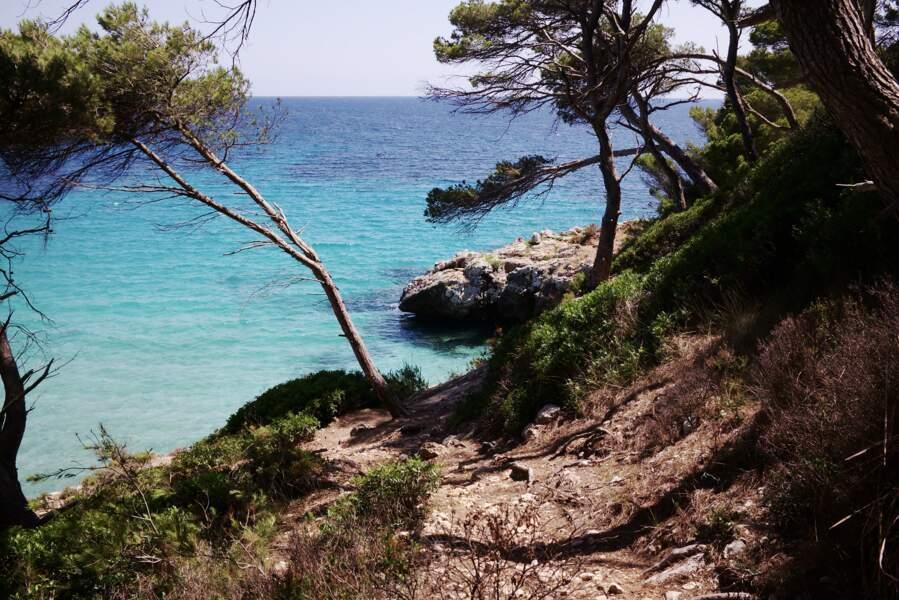 La plage de Cala Trebaluger
