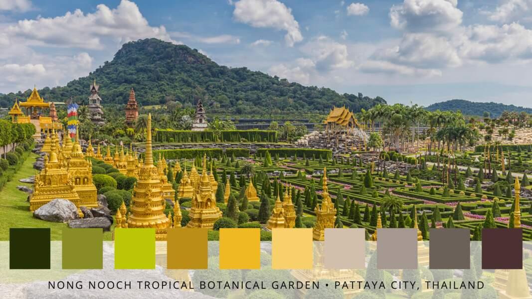 9- Le jardin botanique tropical de Nong Nooch
