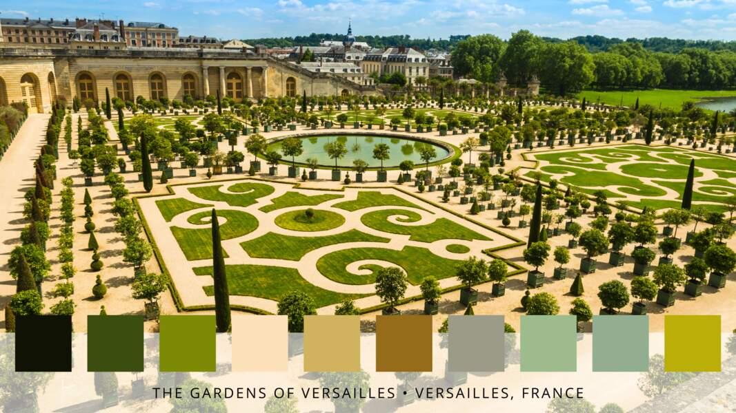 4- Les jardins de Versailles