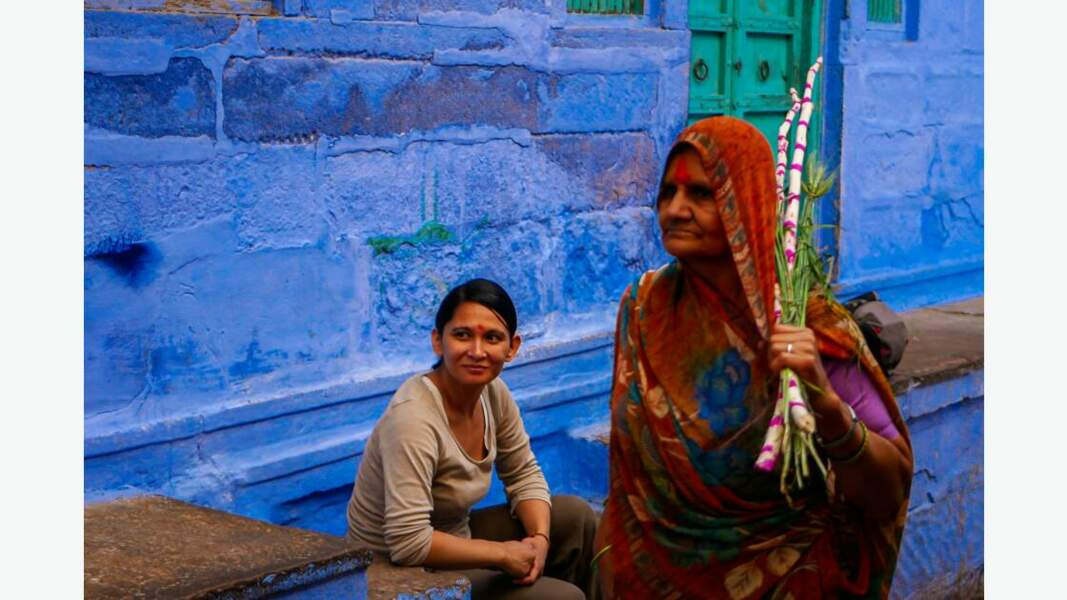 La ruelle bleue, Jodhpur