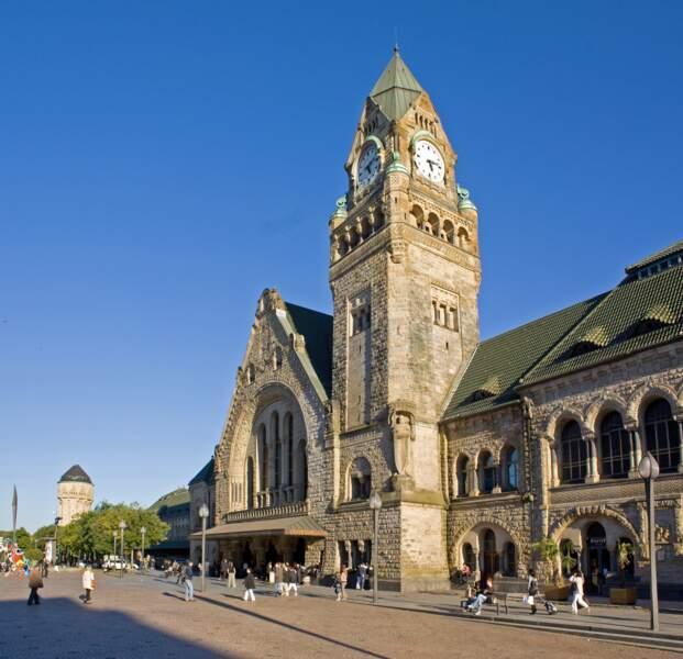La gare de Metz (Grand Est)