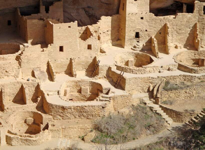 Le ruines Anasazi du parc national de Mesa Verde (États-Unis)