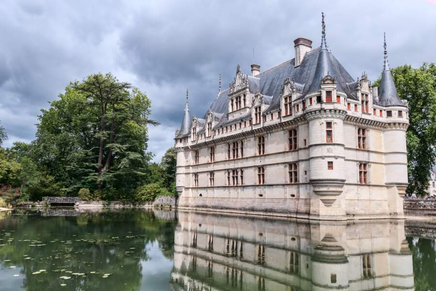 Le château d'Azay-le-Rideau (Centre-Val-de-Loire)