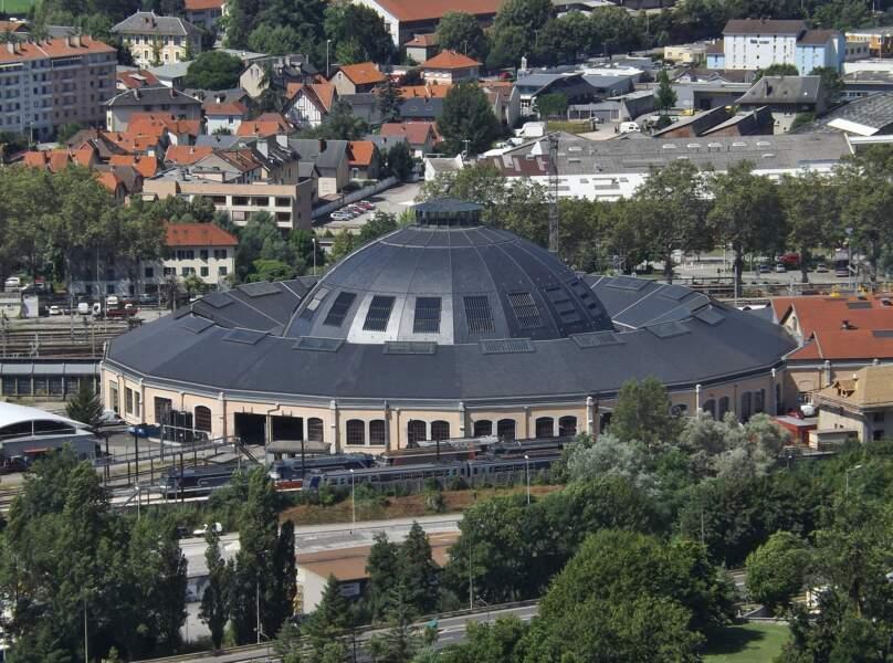 La rotonde ferroviaire de Chambéry (Auvergne-Rhône-Alpes)