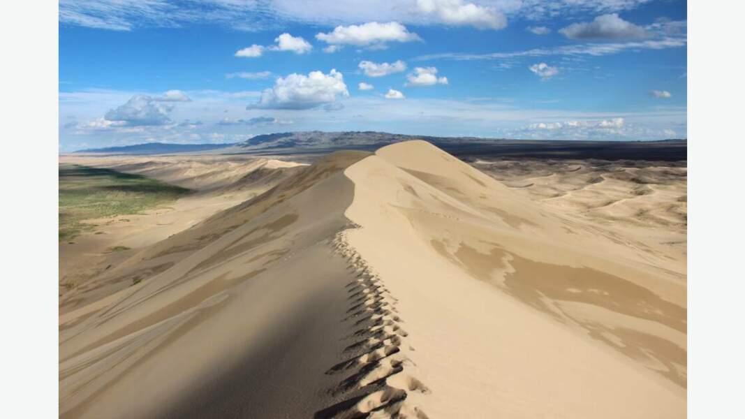 Dune de sable de Gobi