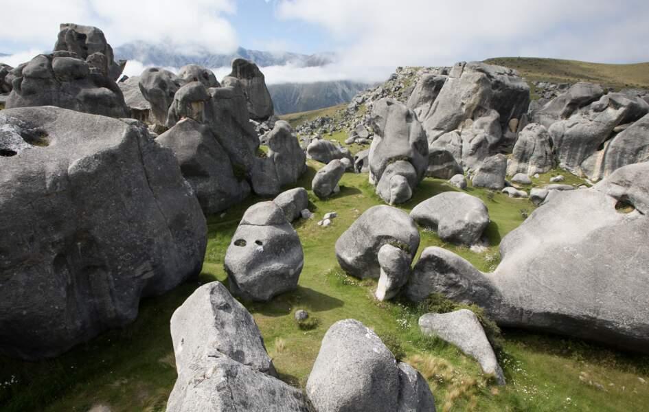 Les rochers géants de Castle Rock