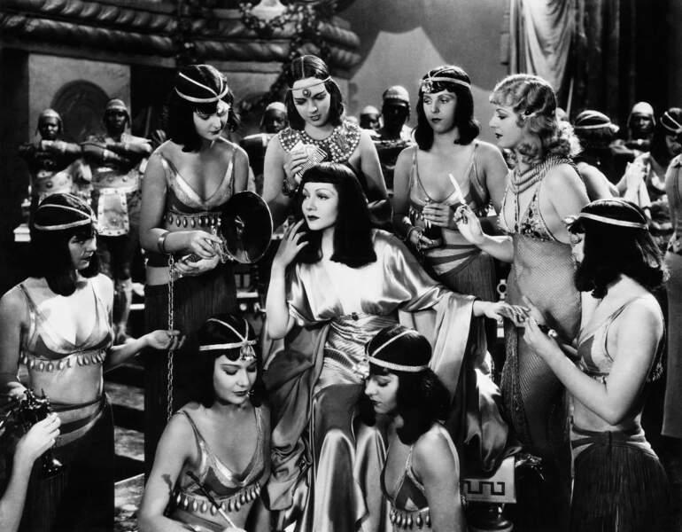 Pour Hollywood, le personnage de Cléopâtre était synonyme de sexe et de scandale