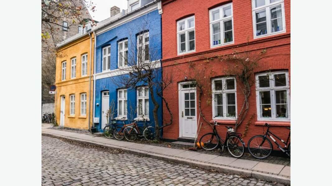 Les maisons colorées