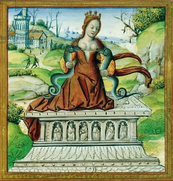 En peinture, la reine empoisonnée est devenue le symbole de la tentation