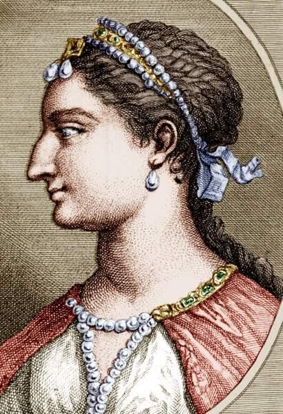 Cléopâtre sous les traits de la déesse Isis
