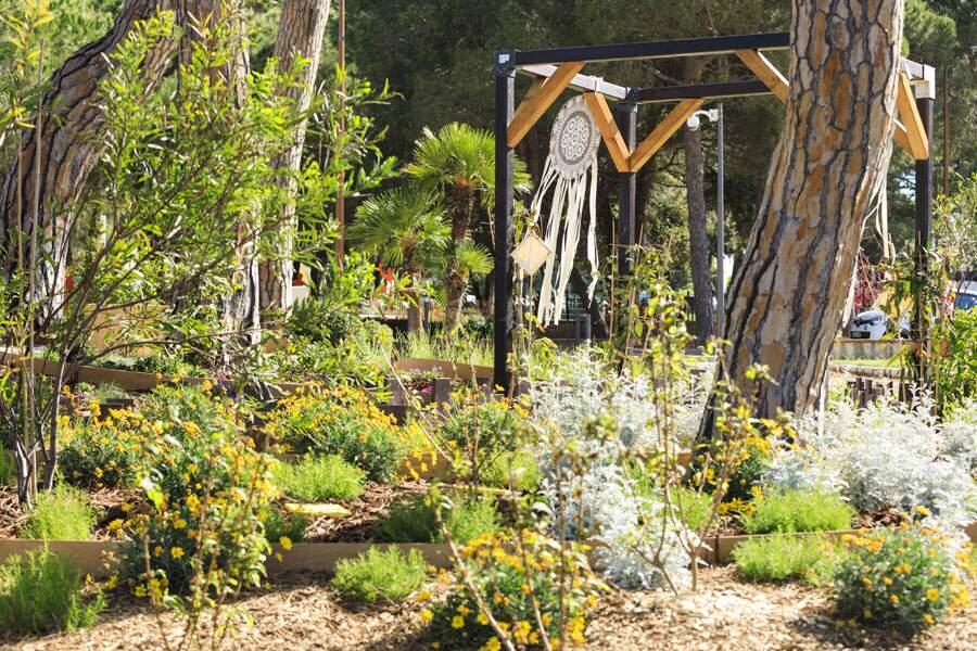 Des jardins éphémères aussi à visiter