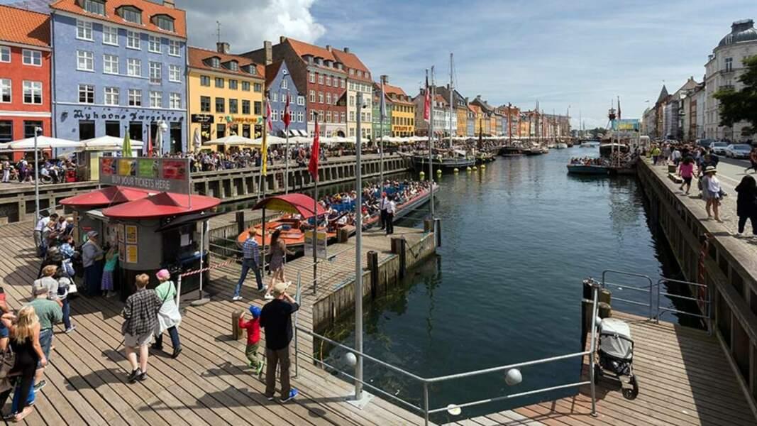 Promenade sur le quai de Nyhavn