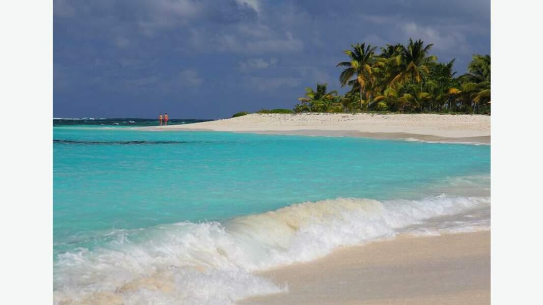 La petite île d'Anguilla