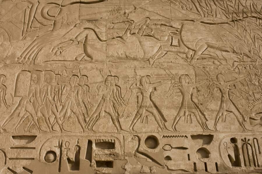 Comme Ramsès III, Cléopâtre déclencha de sanglantes batailles