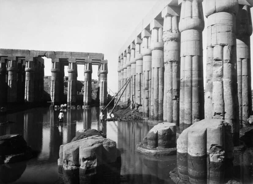 Ce temple servit de modèle pour son palais d'Alexandrie
