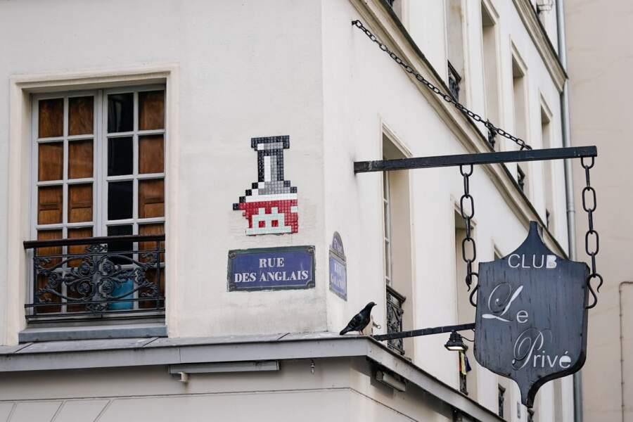 Space Invader à Paris