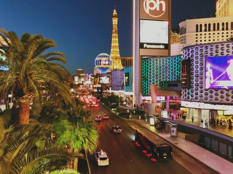 Vivre la folie et la démesure à Las Vegas