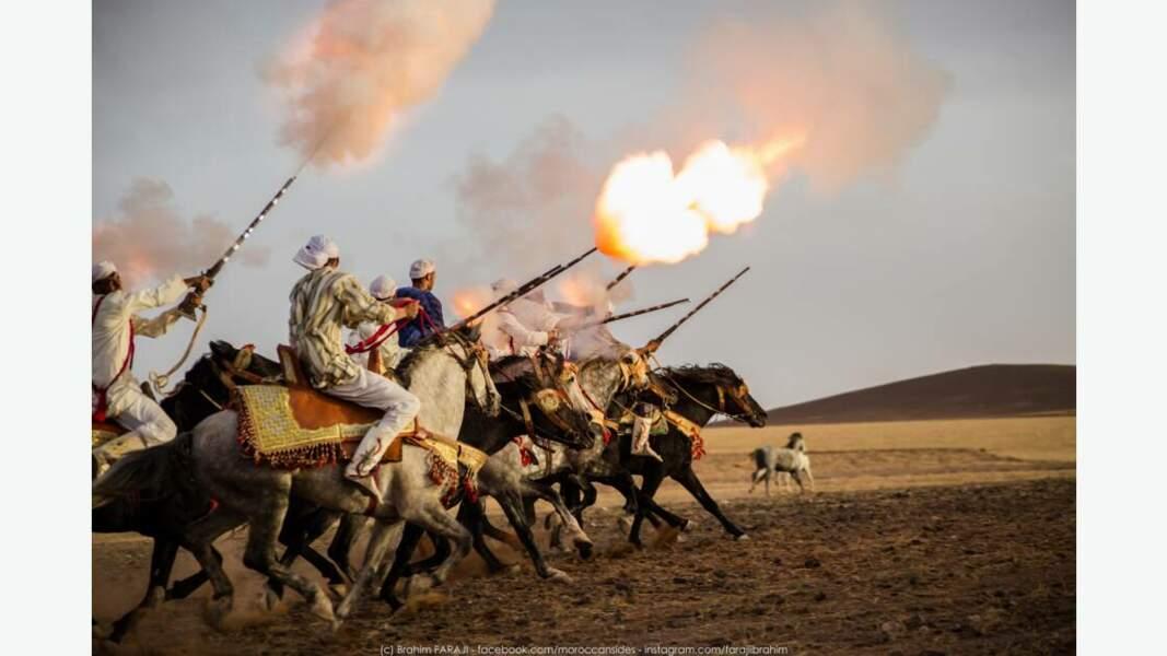 Les chevaliers marocains : un fort patrimoine culturel