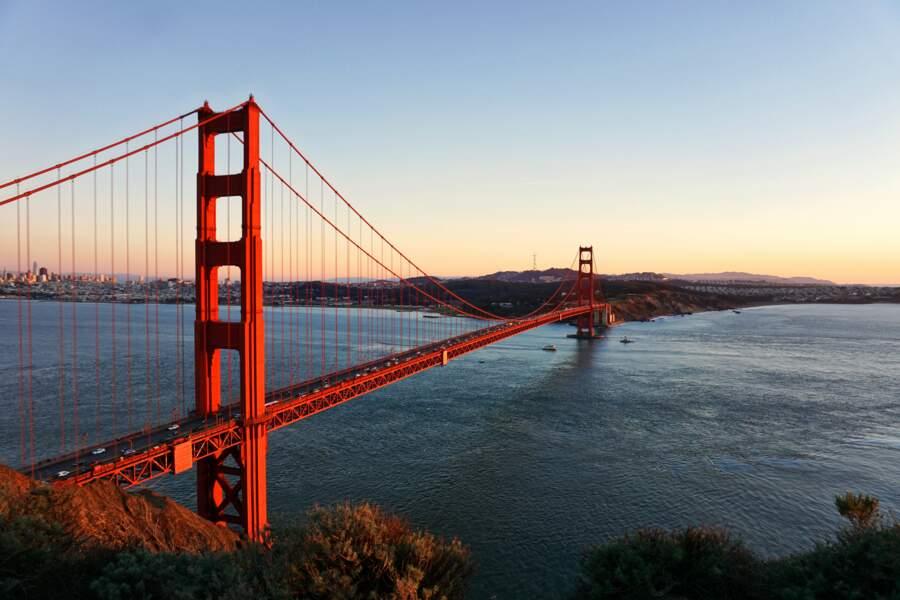 Traversez le Golden Gate Bridge à San Francisco