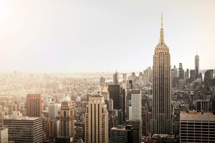 Profiter de la vue au sommet de l'Empire State Building