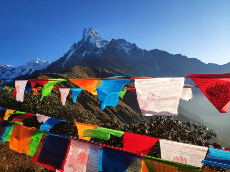 Gravir l'Everest au Népal