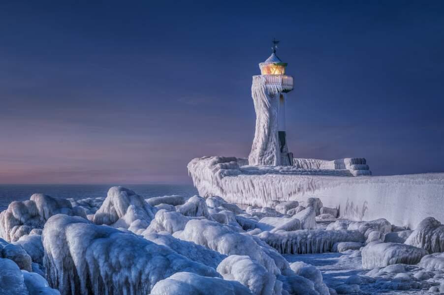 Le phare gelé de Manfred Voss