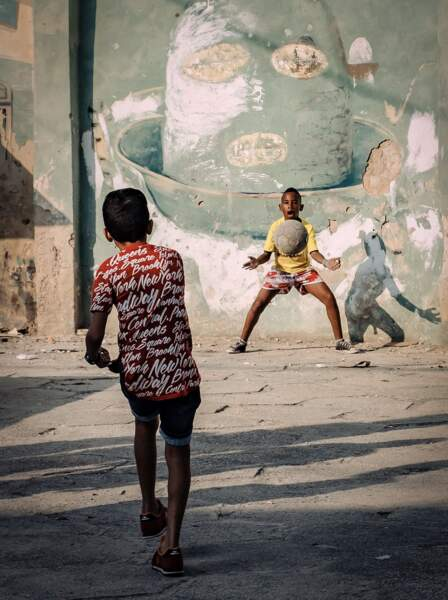 Football de rue de Andreas Bauer