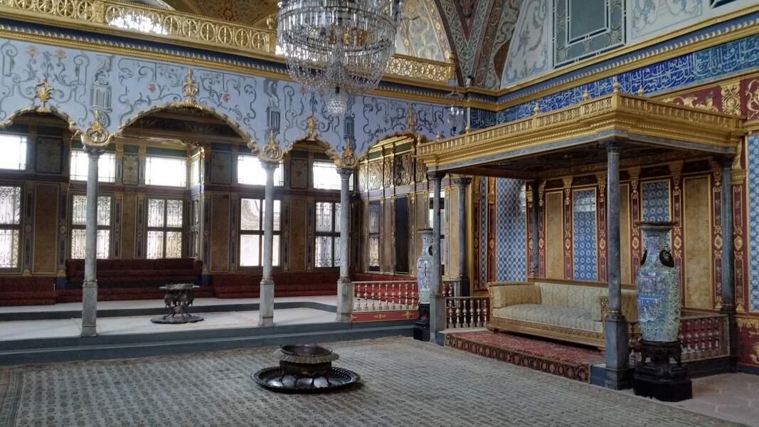 Le palais Topkapi (Istanbul, Turquie)