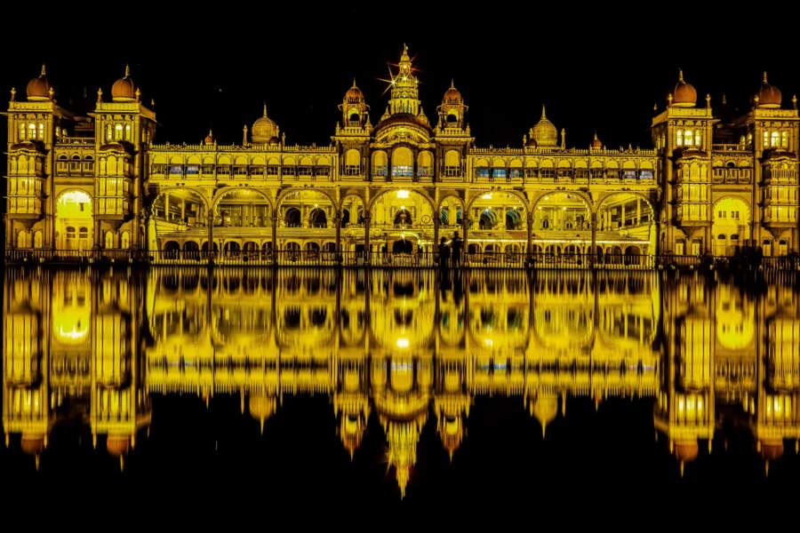 Le Palais de Mysore (Inde)