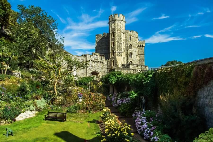 Le château de Windsor (Angleterre)