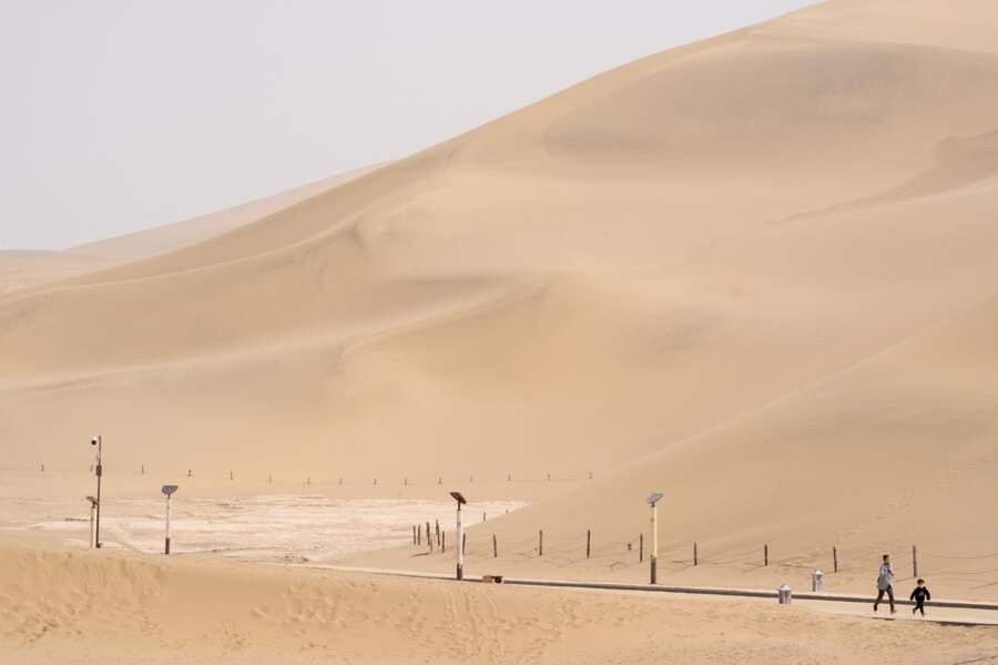 """Les """"dunes de sable chantant"""""""
