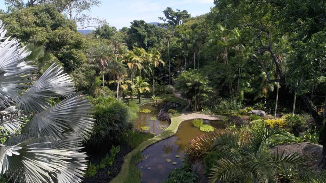 Le site créé par l'architecte et artiste Roberto Burle Marx (Brésil)