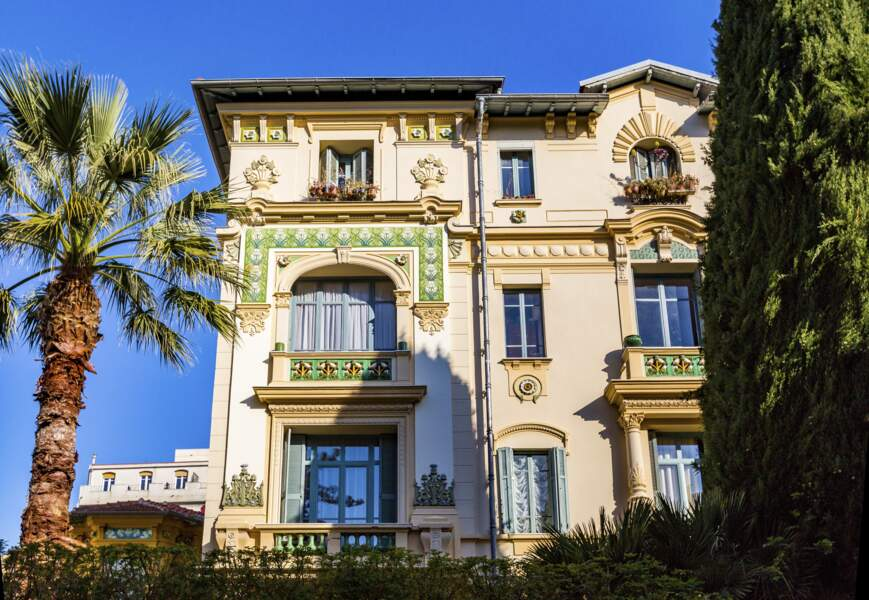 La ville de Nice (France)