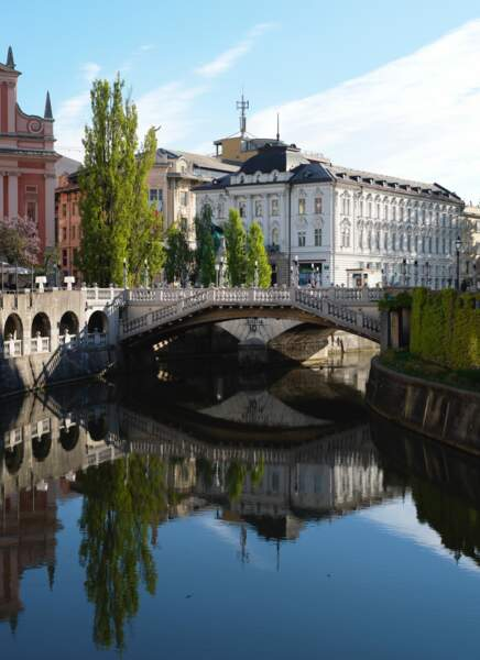 Les œuvres de Jože Plečnik à Ljubljana (Slovénie)
