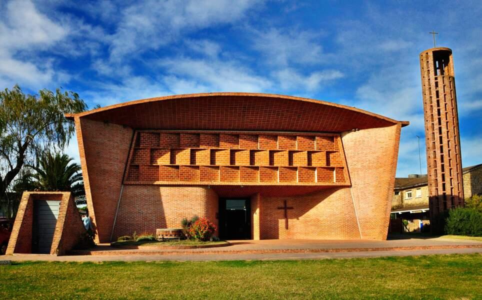 L'église d'Atlántida, œuvre de l'ingénieur Eladio Dieste (Uruguay)