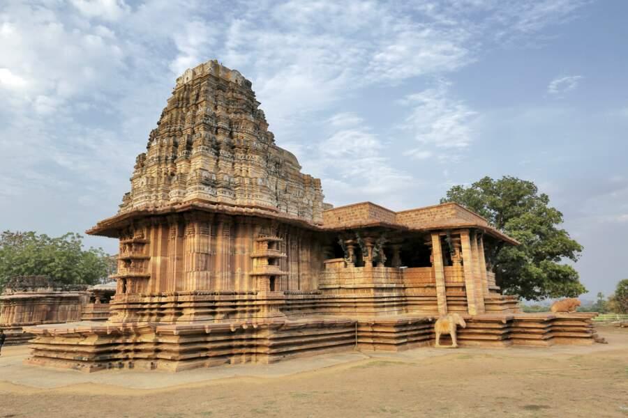 Le temple de Kakatiya Rudreshwara (Ramappa),Telangana (Inde)